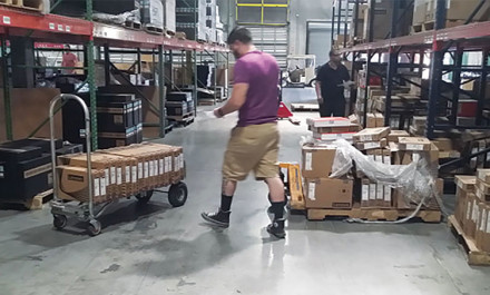 Picking: Recolectores de órdenes - sólo seleccionan y recolectan la mercancía, luego se envía para verificación.