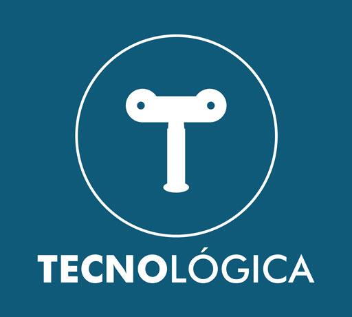 logo Tecnologica blanco