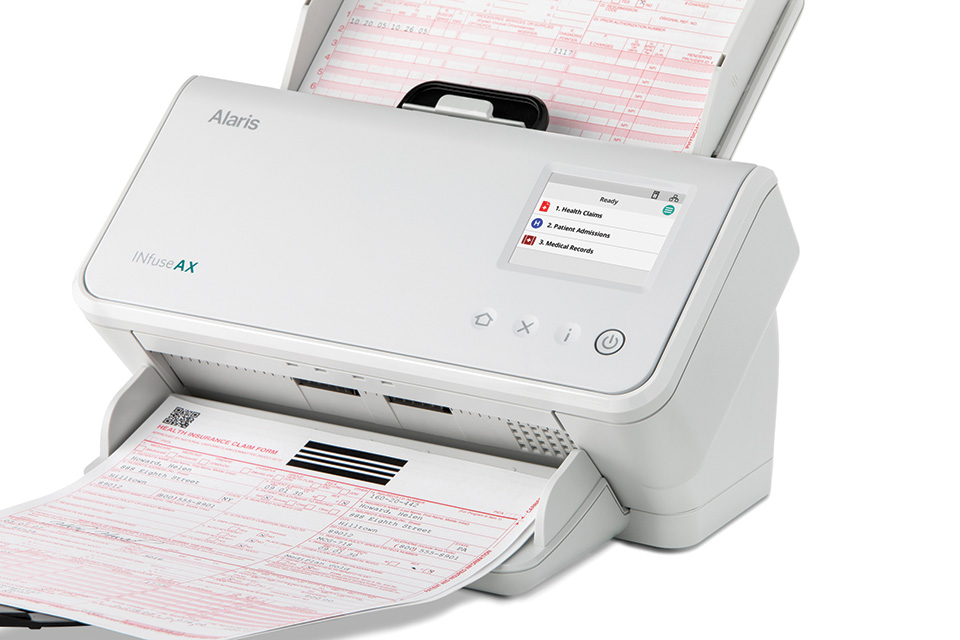 Alaris INfuse AX Scanner - Health Form