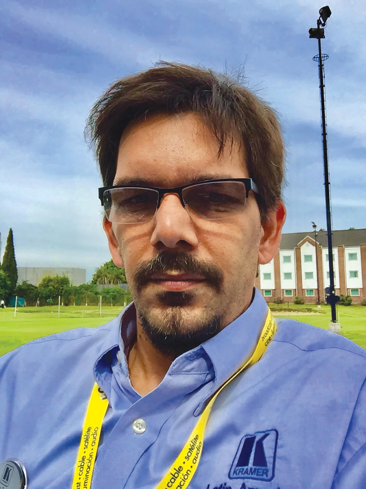 Pablo Burgos - Gerente de Ventas para Argentina, Uruguay y Paraguay