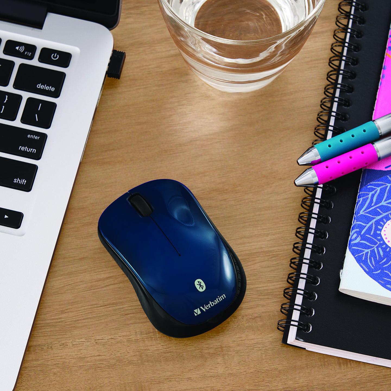 Mouse BluetoothInalambrico Tablet Multi-Trac Blue LED Azul
