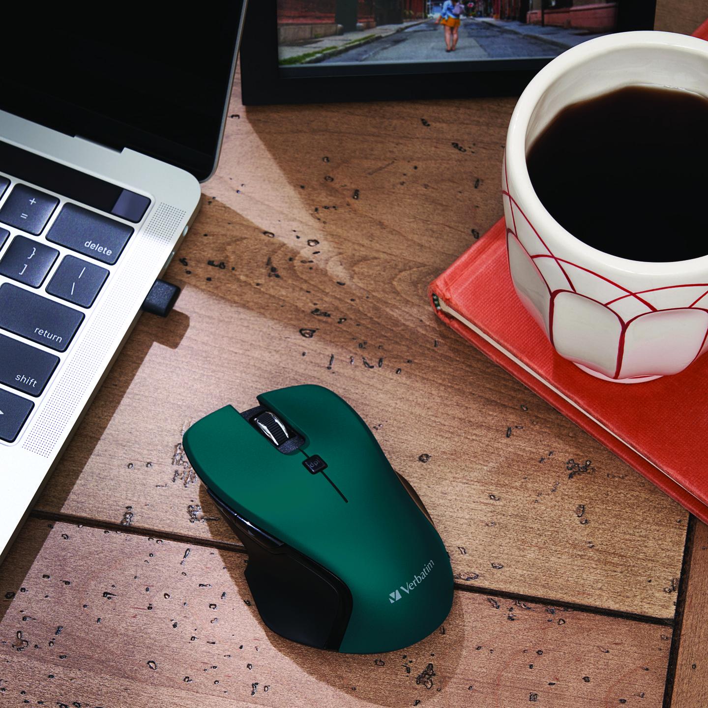 Mouse USB-C™ Inalámbrico Blue LED – Azul
