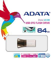 ADATA presenta Disco Flash USB Dual para Smartphones y PCs - 1