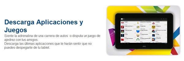 AOC Breeze Tablet Mw0711 apps