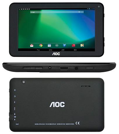 AOC Tableta D70J10 negra