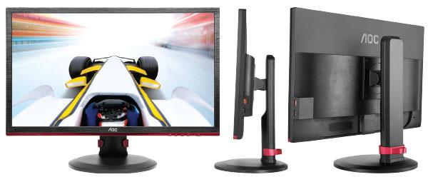 AOC presenta en Uruguay su nuevo monitor Full HD Gamer de 24 2