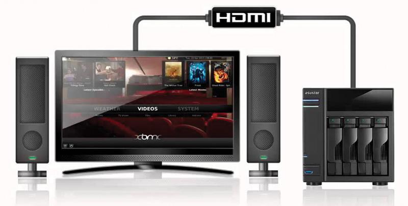 ASUSTOR-NAS-+-HD-TV