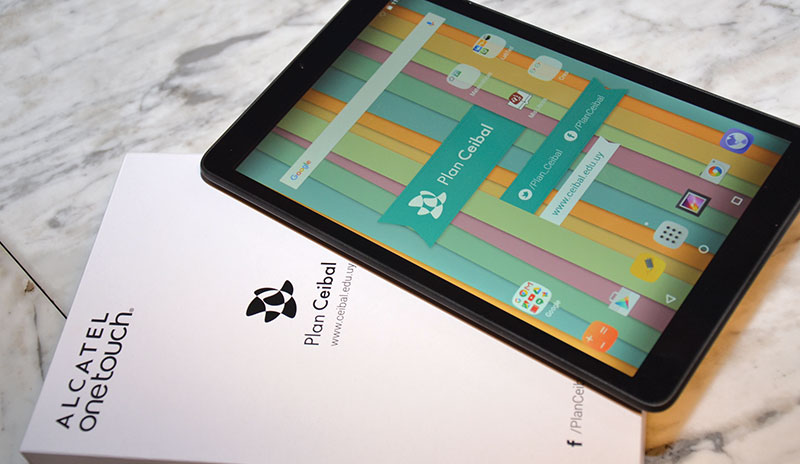 Alcatel One Touch Tablet Plan Ceibal