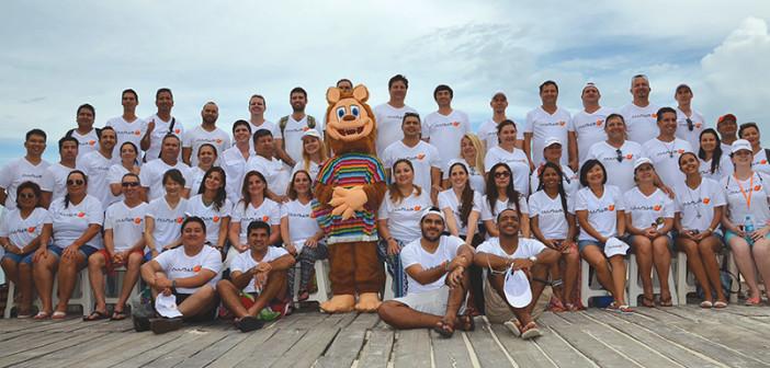 Allplus celebró exitosamente otra edición  de su convención anual. XOXIMILCO 2016, Cancún.