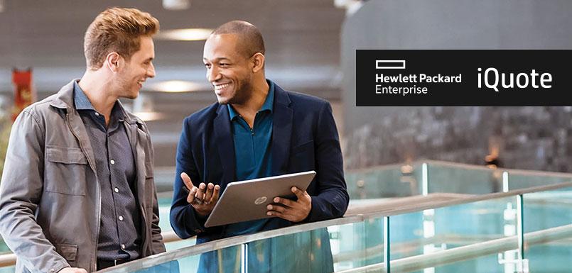 Bienvenido iQuote de Hewlett Packard Enterprise a OpenMarket