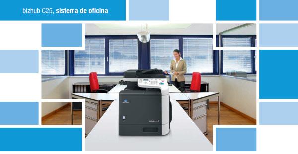 Bizhub c25 de Konica Minolta el multifuncional color imprescindible en la oficina en MAPA 2