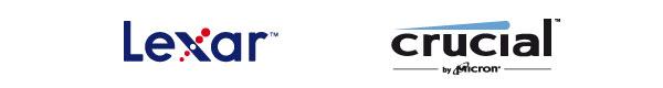 Crucial y Lexar Logo