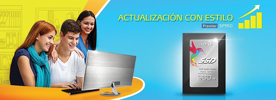 El SSD SP550 de Adata equipado con memoria flash TLC de bajo costo 1