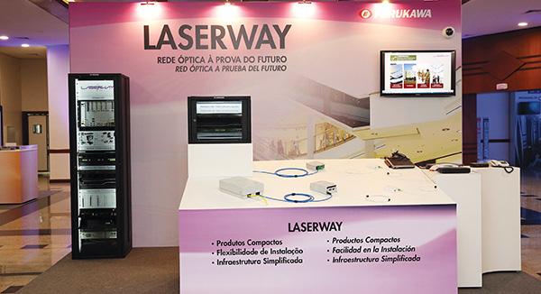 Encuentro anual de Furukawa reunio a mas de 500 ejecutivos latinoamericanos Laserway