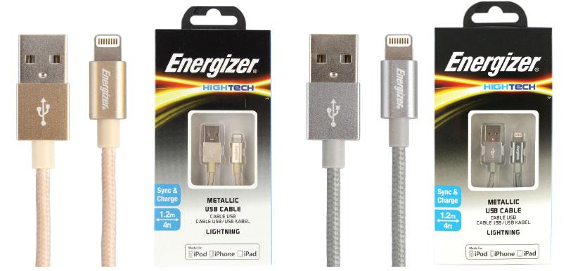 Energizer Cable cordon lightning