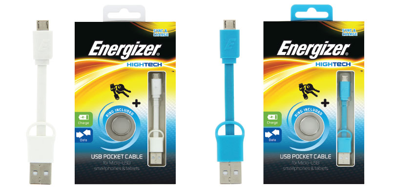 Energizer Cable llavero