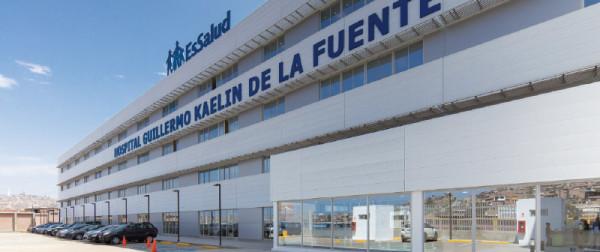 Hospital Guillermo Kaelin de la Fuente Villa Maria del Triunfo, Lima, Perú