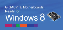 GIGABYTE TECHNOLOGY Co. Ltd. motherboards windows 8 compatible