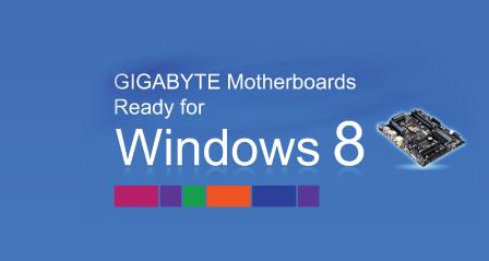 GIGABYTE TECHNOLOGY Co. Ltd. motherboards windows 8 compatible