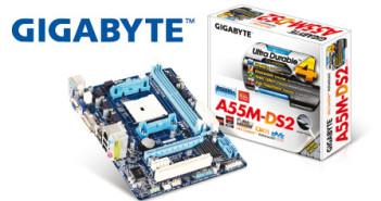 Foto Motherboard GIGABYTE GA-A55M-DS2