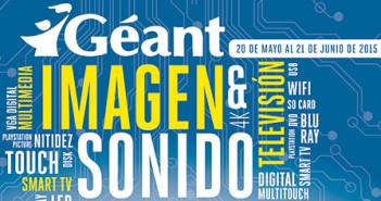 Geant celebra el mes  de Imagen y Sonido