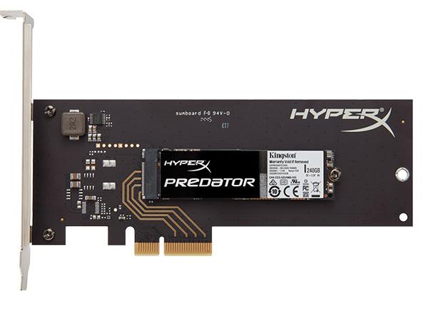 HyperX Presenta su SSD mas Veloz