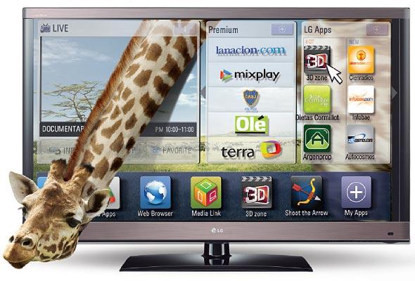 Foto LG Smart TV
