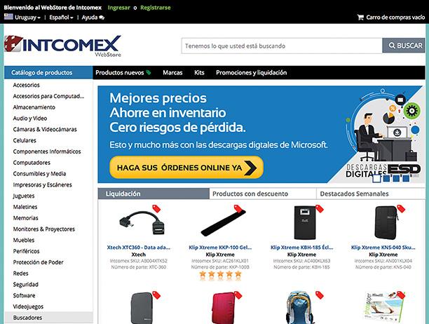 Intcomex Uruguay unico distribuidor local de ESD en software Microsoft