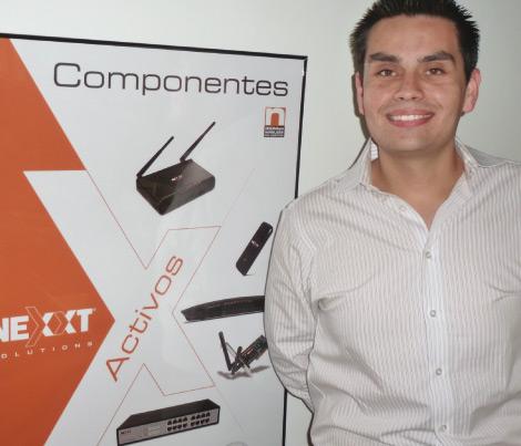 Foto Jorge Rojas como Gerente Regional de Ventas para  Nexxt Solutions