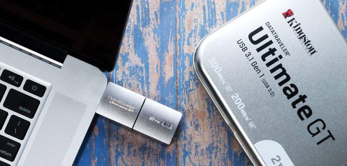 Kingston Technology pone a la venta la unidad USB Flash de mayor capacidad en el mundo
