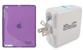 Klip Xtreme Mobility cargador USB acumuladores portátiles de corriente fundas personalizadas para iPads