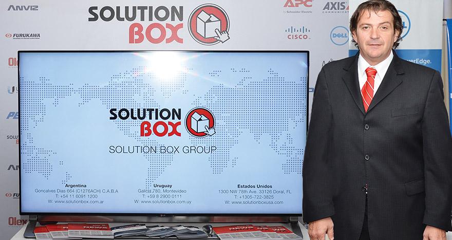 Imagen de Martín Coral, Gerente General de Solution Box