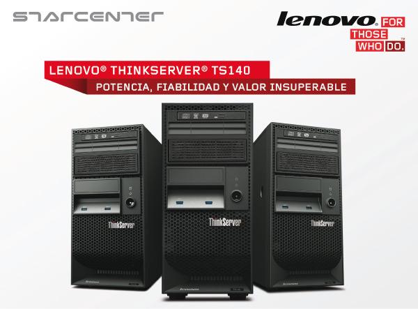 Lenovo en Starcenter ThinkServers
