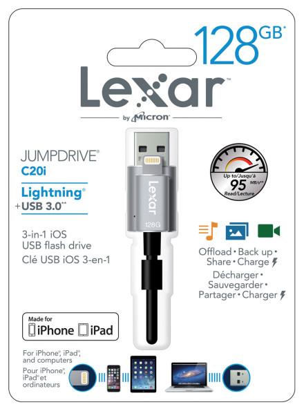 Lexar Jumpdrive c20i 128gb image nl