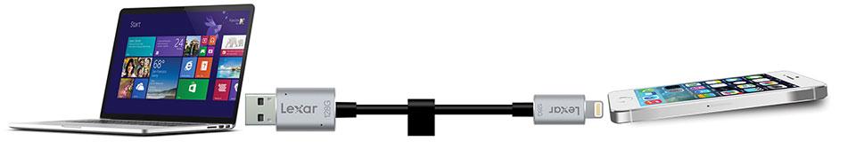 Lexar Jumpdrive c20i 128gb image nl connection