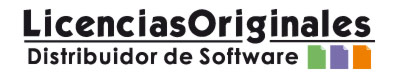 Logo Licencias Originales Distribuidor de Software