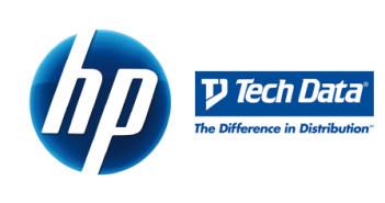 Logo Techdata y HP