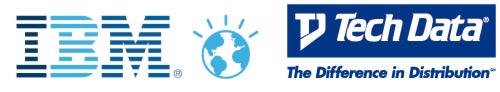 Logos IBM y Tech Data
