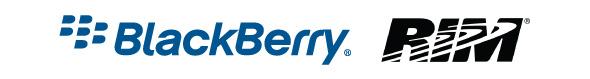 Logos RIM y Blackberry