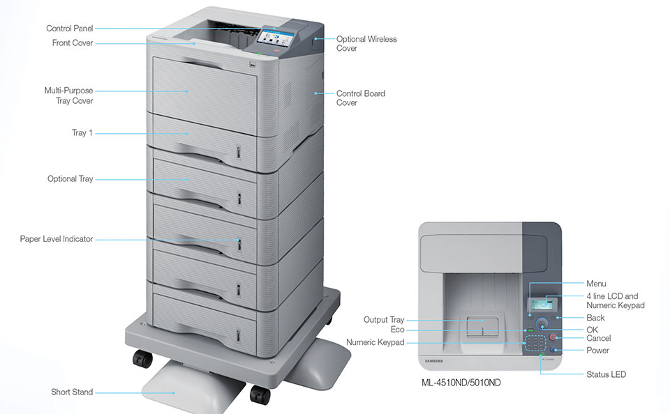 Samsung ML-4510ND Impresora Láser Monocromática