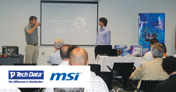 MSI y TECHDATA capacitan a sus clientes