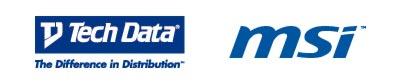 MSI y TECHDATA Logos