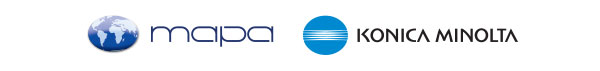 Mapa SA - Konica Minolta logos
