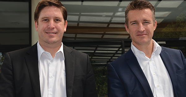 Mariano Muñoz, Manager Development para Latinoamérica  y Álex Huguet, Country Manager Iberia de Port Designs
