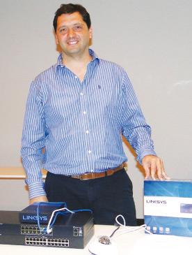 Mariano Tomalino, National Account Manager de Belkin para Uruguay