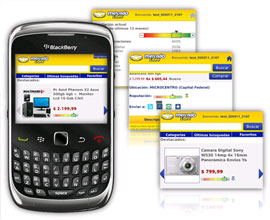 Mercado Libre Mobile Blackberry
