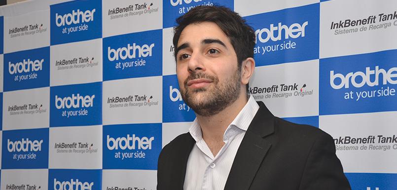 Mikhail Murekian, gerente de Producto de Brother Argentina, Uruguay y Paraguay