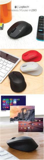 Mouse Logitech M280 4