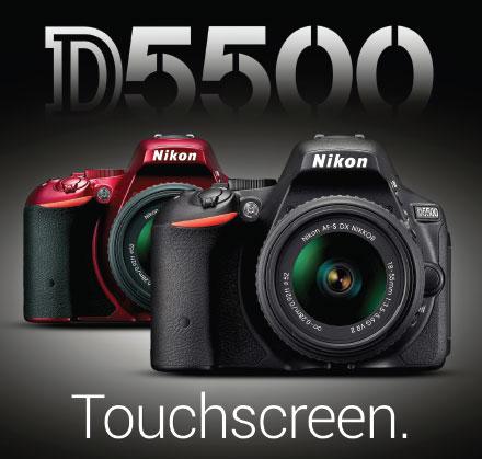 Nikon D5500 Touch Screen 2