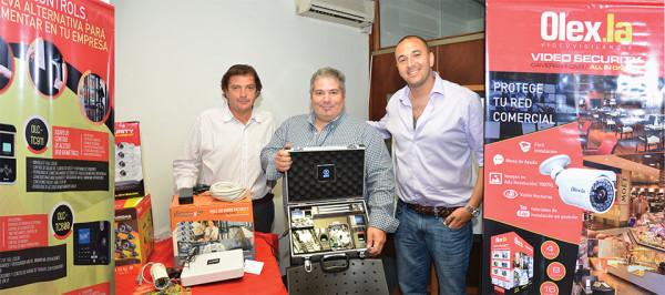 OLEXLA y VISIONxIP presentaron en Solution Box Uruguay nuevas soluciones de seguridad 10